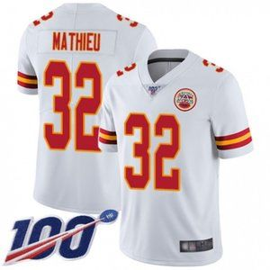 Chiefs Tyrann Mathieu 100th Season Jersey